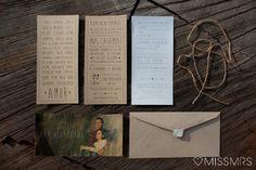La boda de Xàntala   Daniel: Las invitaciones de boda