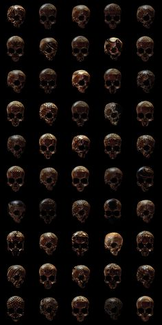Hope you like skulls... on Behance