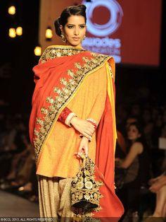 Vikram Phadnis | Lakme Fashion Week 2013. Love the classic beauty and elegance.