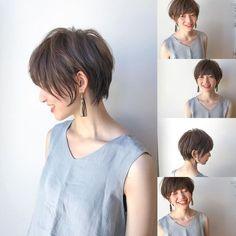 Image may contain: 3 people Japanese Short Hair, Asian Short Hair, Asian Hair, Girl Short Hair, Short Hair Cuts, Short Hairstyles For Women, Hairstyles Haircuts, Shot Hair Styles, Pin On