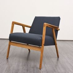 Alf Svensson; Ash Lounge Chair, 1950s.