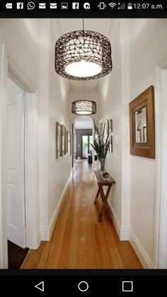 Help for a long boring hallway and what not to do for End of hallway ideas
