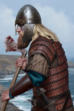 Dane warrior by JFoliveras.deviantart.com on @DeviantArt