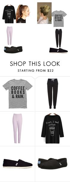 """""""Lazy  Day"""" by evelyn-mendoza-1 on Polyvore featuring moda, Topshop, Giambattista Valli, TOMS y ASOS"""