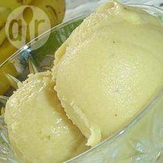 Bananensorbet @ allrecipes.nl
