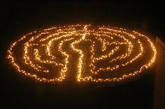 lighted labyrinth