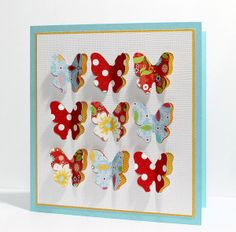 3D Butterfly Card - free cutting file