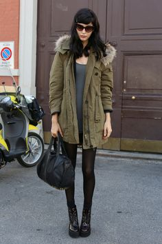 London - Off-Duty Model Street Style from NY, London, Milan, and Paris - StyleBistro