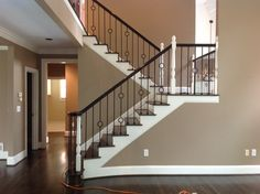 Single and Double Ring iron balusters www.stairnation.com