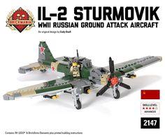 Brickmania - Il-2 Sturmovik, $395.00 (http://www.brickmania.com/il-2-sturmovik/)