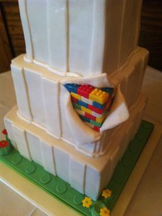 Lego Wedding Cake - detail by Baking and Decorating, via Flickr