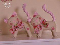 chats décoratifs