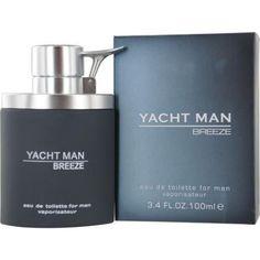 Yacht Man Breeze By Myrurgia Edt Spray 3.4 Oz