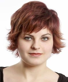 25 Pretty Short Hairstyles for Chubby Round Faces: Shaggy Short Haircut; Fat Face Haircuts, Hairstyles For Fat Faces, Sassy Haircuts, Best Short Haircuts, Cool Haircuts, Short Hairstyles For Women, Cool Hairstyles, Choppy Haircuts, Layered Hairstyles