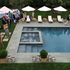 Traditional Home, Hampton Showhouse Gala on www.CourtneyPrice.com   Love this pool!