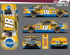 David Ragan ran the Pedigree scheme at Talladega in May, his last race subbing for Kyle Busch, then moving to the #55 team