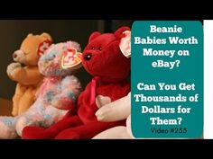 Here are some Ty Beanie Babies worth money! All of these sold on eBay during e705a80290d9