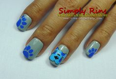 Who's clues? Blue's clues nails