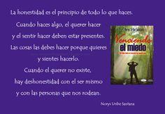 NORYS URIBE SANTANA: REFLEXIONES DE VIDA Nº 10: LA HONESTIDAD