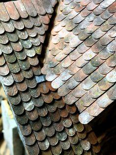 Vom Leben gezeichnet – von Marcel Ackle gebaut: Remise Part 77 / Dach mit Biberschwanzziegeln Part...