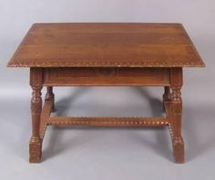 """A French Basque writing table of oak. CIRCA: 1910 DIMENSIONS: 29"""" h x 39"""" w x 23"""" d"""