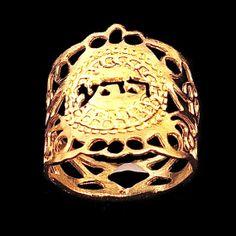 Kabbalah spiral ring By Kelka Jewelry