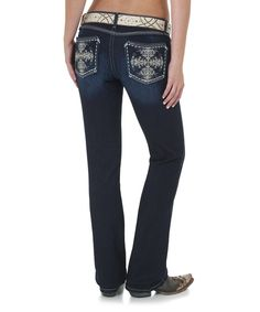 Love this Mississippi Rock 47 Bootcut Jeans - Women by Wrangler on #zulily! #zulilyfinds