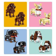"<h3 style=""text-align: center;""><em>Ideal for the biggest pooch lover!</em></h3> <p><span data-mce-fragment=""1"">These Lovely Pets Building Blocks are the cutest addition to your home. Bring these fur companions to life with 3D puzzle making. Patience and time are key when building these puzzles but the end result will be barking wild! These puzzles show a true-to-life representation of these wonderful breeds. Which sweet pup is your favourite?</span></p> <p> </p> <p><strong>Product…"