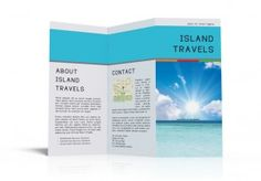 vacation brochure template 8 free cruise brochure templates bates on design