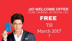 Reliance Jio Might Extend the Jio Welcome Offer with Unlimited Usage Till March 2017 – FlapDigit.com