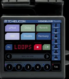 TC Helicon Voicelive Touch Vocal Harmony Effects Processor Looper for sale online Studio Equipment, Dj Equipment, Equipment For Sale, Tom Lee Music, Big Speakers, Midi Keyboard, Signal Processing, Recording Equipment, Drum Machine
