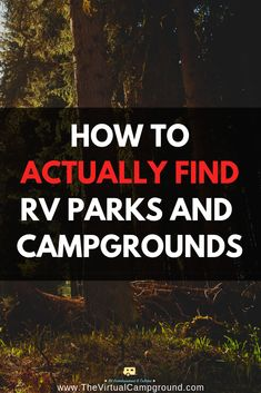 Struggling to find the best RV parks and campgrounds while full-time traveling and RV-living with your family? Read this incredible guide to find the hidden gems of the RV campground world. | www.TheVirtualCampground.com