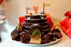 Happy 7 ! {comment décorer un gâteau en 5mn}