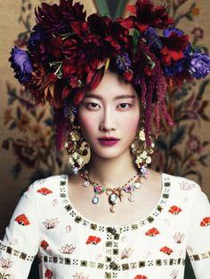 Publication: Harper's Bazaar Korea November 2012 Model: Lee Hyun Yi Photographer: Kim Youngjun
