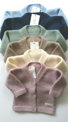 Items similar to Classic v Neck Cardigan on Etsy - Knitting Baby Cardigan Knitting Pattern Free, Kids Knitting Patterns, Baby Boy Knitting, Knitted Baby Cardigan, Baby Pullover, V Neck Cardigan, Knitting For Kids, Baby Patterns, Dress Patterns