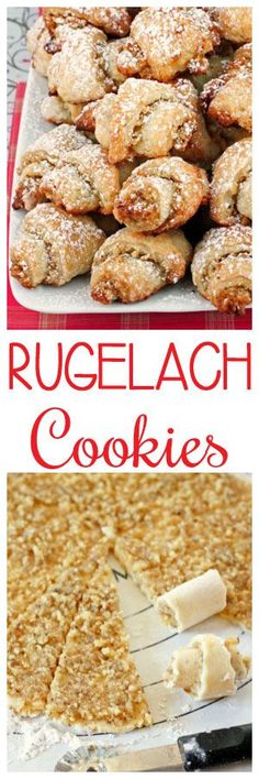 Rugelach Cookies #christmas #thanksgiving #cookies