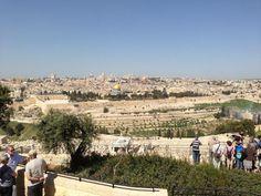 Jerusalem from the Mount of Olives Mount Of Olives, Holy Land, Jerusalem, Israel, Dolores Park, Tours