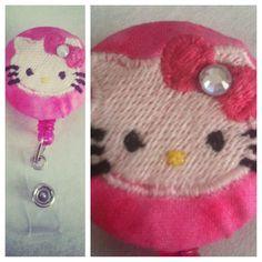 $6.00 Hello Kitty Badge Reel