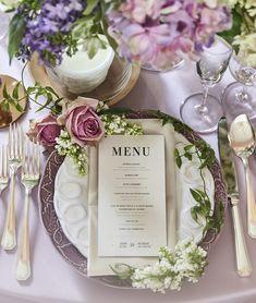 Wedding Coordinator, Wedding Images, Blue Flowers, Tablescapes, Hair Makeup, Feminine, Table Decorations, Weddings, Paper