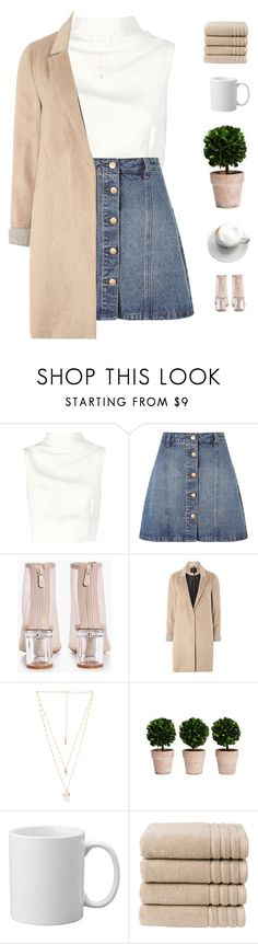 """""""Coffee dates"""" by genesis129 ❤ liked on Polyvore featuring Keepsake the Label, Anita & Green, Boohoo, mel, Natalie B, Christy and vintage"""
