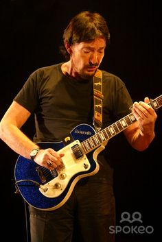 Chris Rea performing live at the Hammersmith Apollo