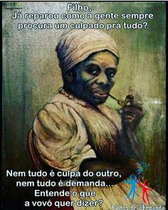 #umbandasaber #umbanda #boanoite ↪Entende o que Vovó quer dizer ? (em São Paulo) Maria Conga, Jesus Prayer, Anubis, Sacramento, The Dreamers, Afro, Prayers, Religion, Faith
