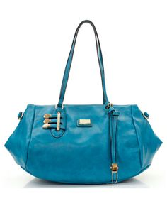 London Satchel in Blue on Emma Stine Limited - this handbag is to die for and the color is spectacular!! I'm green with envy! Lol :-)