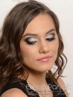 Machiaj realizat de  #Professional #Makeup #Artist #ElenaPanait
