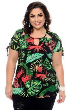 Vestido Plus Size Alecy Plus Size Blouses, Plus Size Dresses, Plus Size Outfits, Plus Size Summer Fashion, Short African Dresses, Kente Styles, Stylish Work Outfits, Travel Clothes Women, Curvy Women Fashion