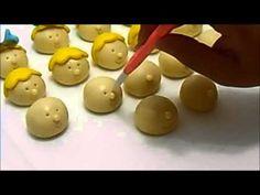 modelando docinho anjinho - YouTube
