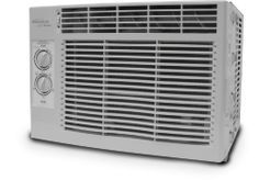 SoleusAir 5,000 BTU Window Air Conditioner, # SG-WAC-05SM by Soleus Air. $172.51. 120 CFM air flow. One touch lift washable & reusable air filter that reduces dust and other airborne particles. Adjustable Thermostat. Gold Shield anti-corrosion coating prevents condenser fin corrosion. 2-Way directional louvers. Soleus Air electronic window air conditioner has many features you want for a dependable room cooler.  Dehumidify capaciaty;  26.4 pints per day, with airflow at 120...