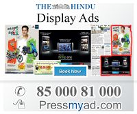 The Hindu is an Hyderabad English-language Indian daily newspaper.The Hindu. latest news, analysis, comment, in-depth coverage of politics, business, sport, environment, cinema and arts from India's national newspaper.to book your news paper ads classified and display ads on Hindu loin to pressmyad.com or call on 8500081000