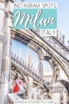 Whether you'll be in The Fashion Capital of the World for a day or more, you'll definitely want to check out the most photo worthy spots in Milan, Italy! Europe Destinations, Positano, Amalfi, Fashion Fotografie, Things To Do In Italy, Italy Travel Tips, Travel Europe, Backpacking Europe, Budget Travel