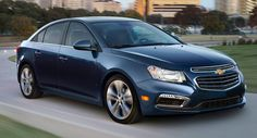Carscoops: 2015 Chevrolet Cruze Mildly Facelifted for New Yor...